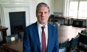 In a significant hardening of his language, Starmer said the PM had to 'get a grip' of the Covid-19 crisis