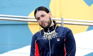 Osiris during Eurovision rehearsals.