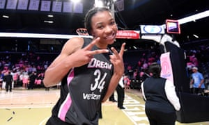 Imani McGee-Stafford: 'Sports are a microcosm of the real world, and especially for the WNBA' .