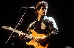 What kind of a day is Lou Reed having? Perfect? Perhaps not.