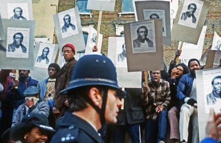 'Who killed Colin Roach?' Protestors against police brutality