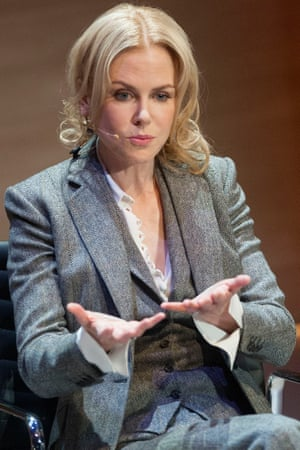 Nicole Kidman speaks at the Women in the World conference.