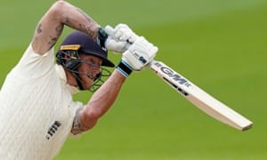 Ben Stokes hit two sixes and 17 fours on his way to a superb 176 against West Indies
