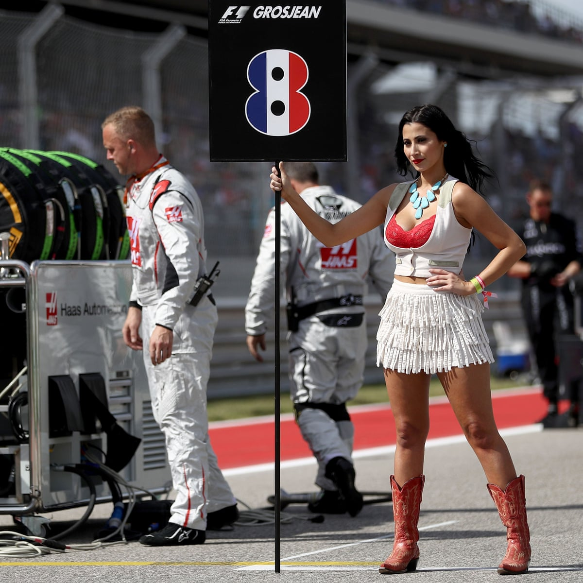 Grid Girls F1 Follows Darts By Calling Time On Women In Hotpants Gender The Guardian