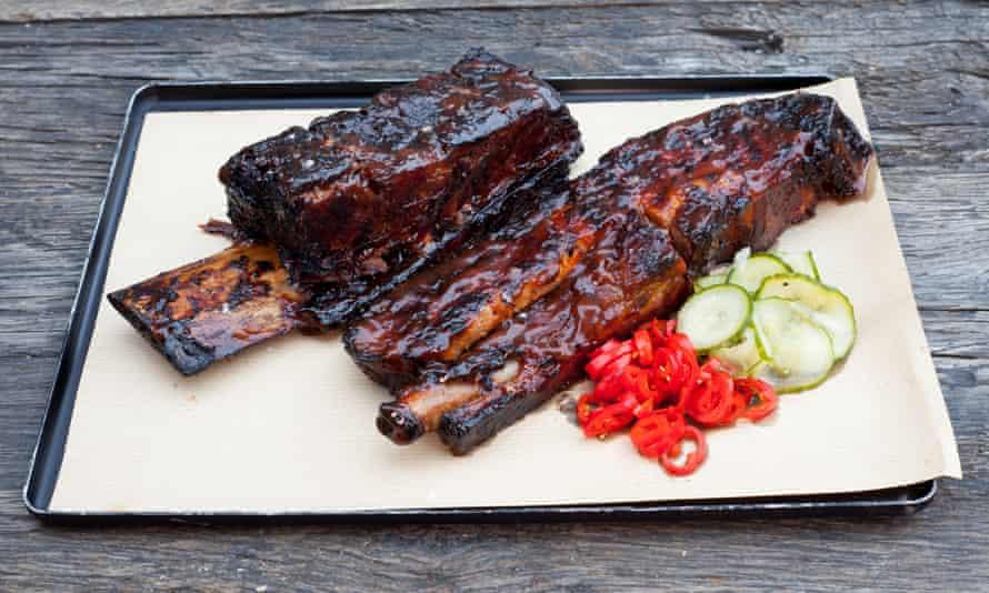 'It feels like you're dismantling it': belly rib, beef rib.