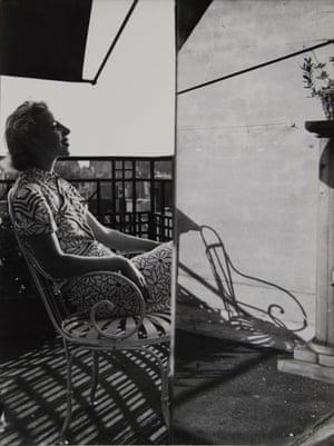 Portrait Composition (E), 1937 by Florence Henri