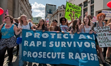 March against rape and sexual violence in central London in 2011