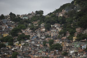 The Rocinha favela. Four Covid-19 cases have been confirmed in Rocinha, the largest slum of its kind in Latin America