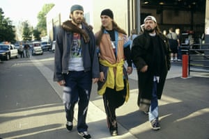 Jason Lee, Jason Mewes and Kevin Smith in the 2001 film Jay and Silent Bob Strike Back.