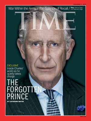 PoW in TimeTime magazine front cover of the Prince of Wales October 24, 2013.