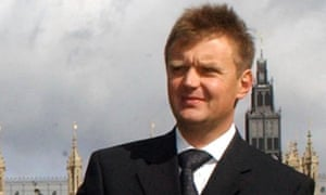 Alexander Litvinenko in 2004, after he became a political refugee in Britain.