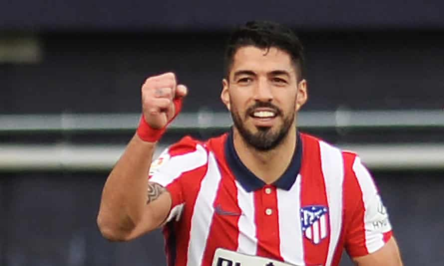 Luis Suárez is spearheading Atlético Madrid's title charge.