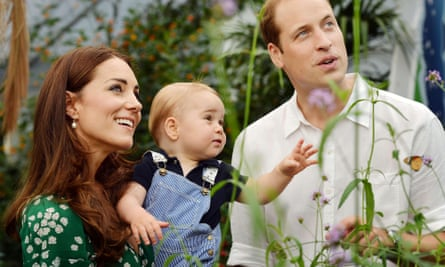 Prince George, with his parents the Duke and Duchess of Cambridge, will soon have his own 'spare' to the throne.