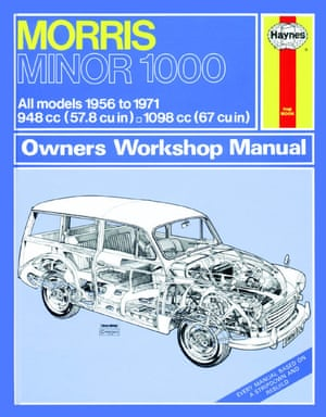 A Haynes manual for the Morris Minor 1000