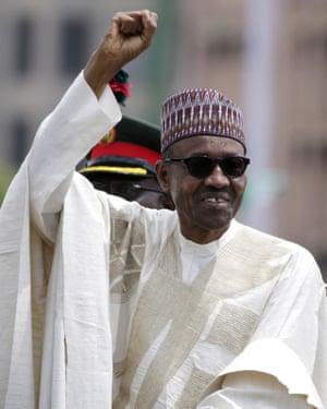 Nigeria's president Muhammadu Buhari.