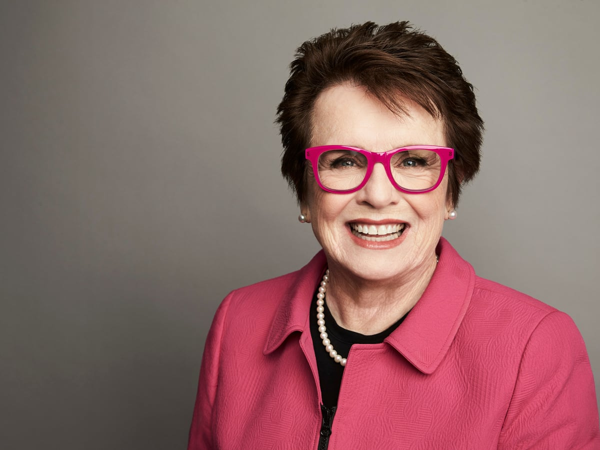 Billie Jean King Be Ahead Of Your Time That S What You Have To Do Lgbt Rights The Guardian