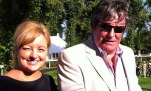 BA pilot Chris Henkey , 63, with his fiancee Lenka Nevolna.