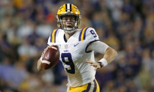 Joe Burrow is all but certain to be the No1 pick in this week's NFL draft