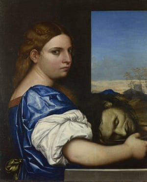 Salome by Sebastiano del Piombo, 1510.
