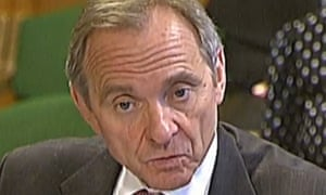Sir John Manzoni giving evidence to the Commons Public Administration and Constitutional Affairs on the work of the Cabinet Office.