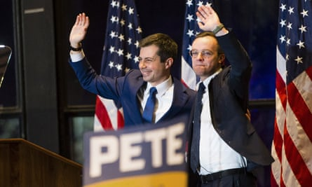 Pete Buttigieg's husband Chasten became a popular figure on the campaign trail.