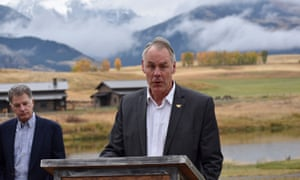 Ryan Zinke in Montana.