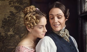 Sophie Rundle and Suranne Jones in Gentleman Jack.