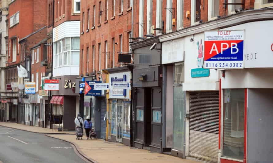 Shops closed due to Covid-19 in Leicester