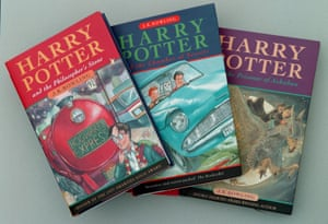 The first Harry Potter books