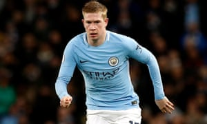 Kevin De Bruyne was brilliant in Manchester City's clear run to the 2017-18 Premier League title, running the play and scoring goals.