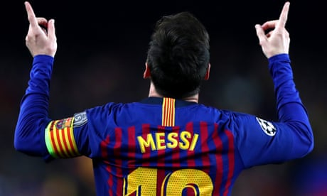 Lionel Messi's one-man show draws curtain on Manchester United dreams