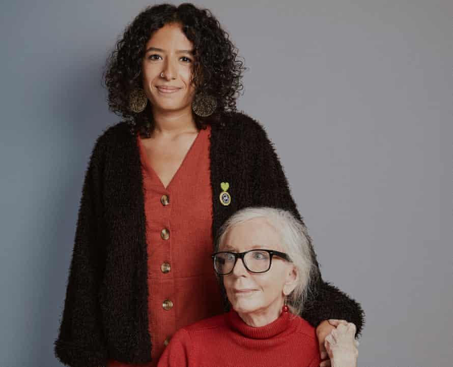 Roxy Legane, 28, and Nona Ferdon, 91