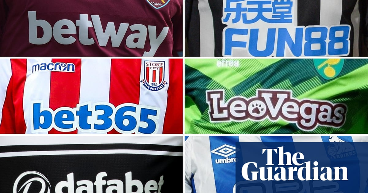 4883c837326 Number of clubs sponsored by betting firms is  disturbing