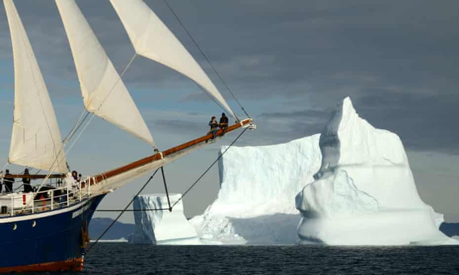 Tour of Greenland's fjords is on a traditional schooner