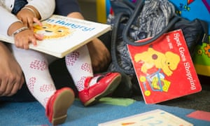 Library rhyme time: not just fun, but good for parents' and children's wellbeing.