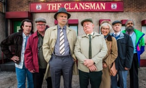 Last orders ... the residents of Craiglang in Still Game.