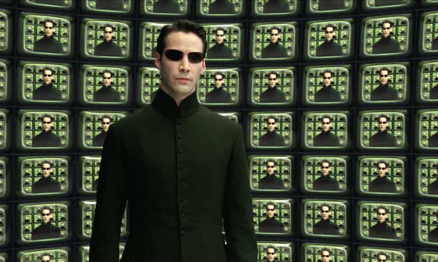 We have seen the future: Keanu Reeves in The Matrix Reloaded.