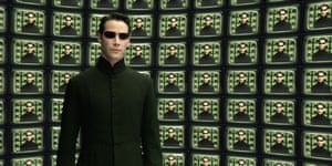 Keanu Reeves as Neo in The Matrix Reloaded (2003)