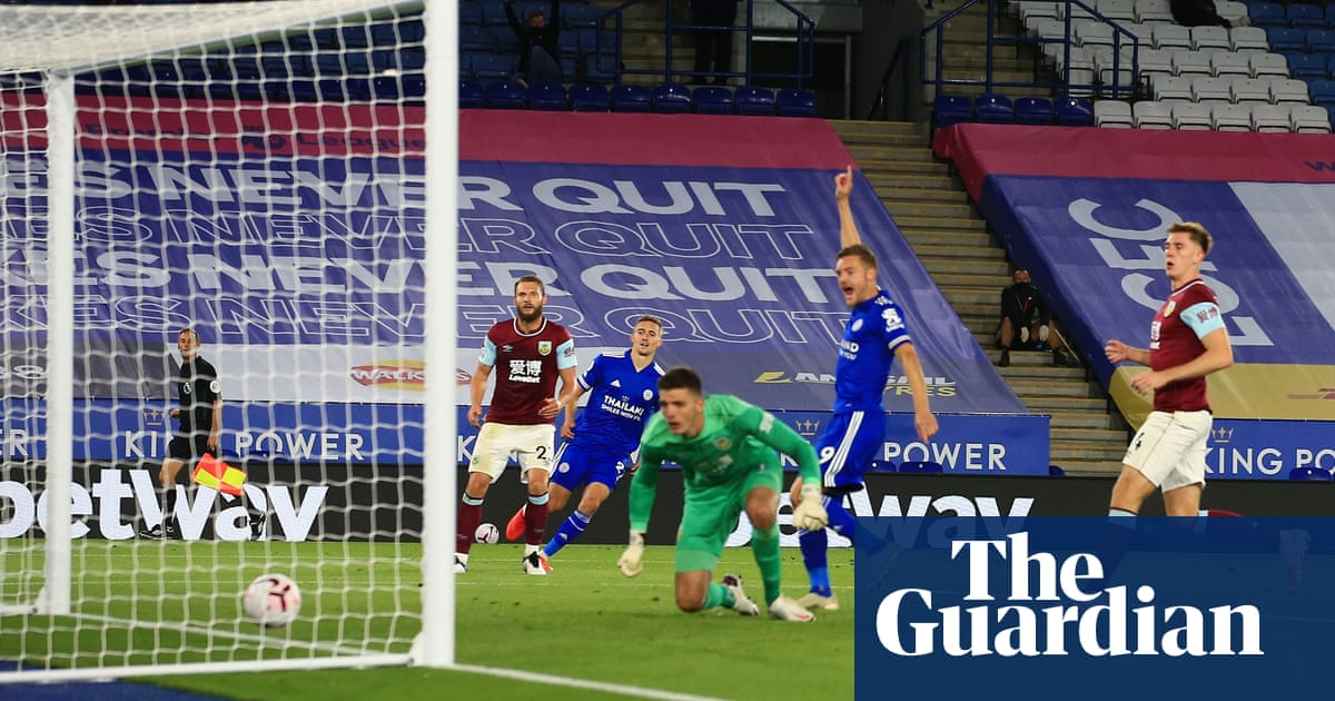 Leicester maintain 100% record by exposing Burnleys limitations
