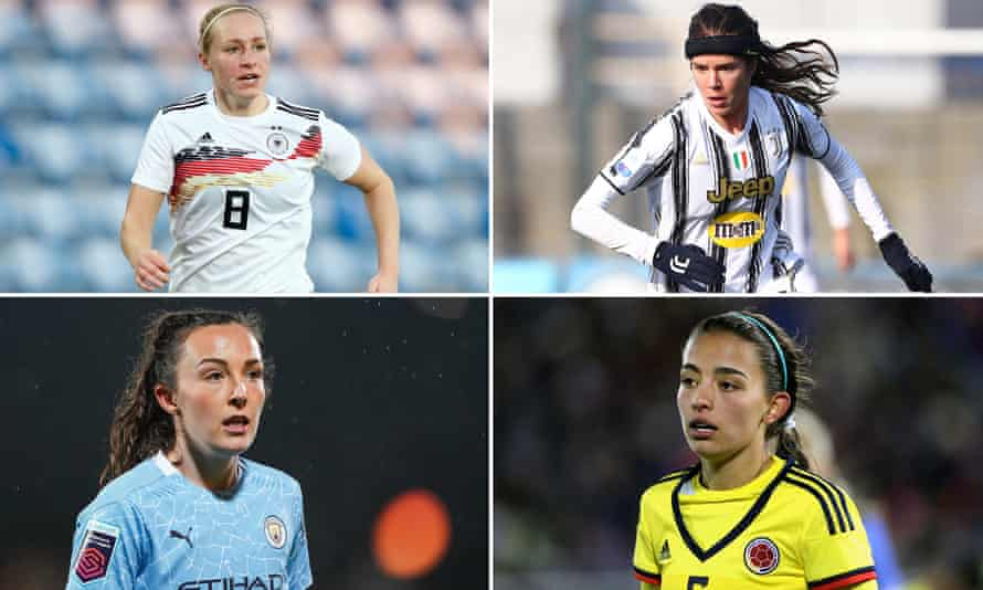 Pauline Bremer, Sofie Junge Pedersen, Isabella Echeverri, Caroline Weir
