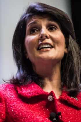 South Carolina governor Nikki Haley.