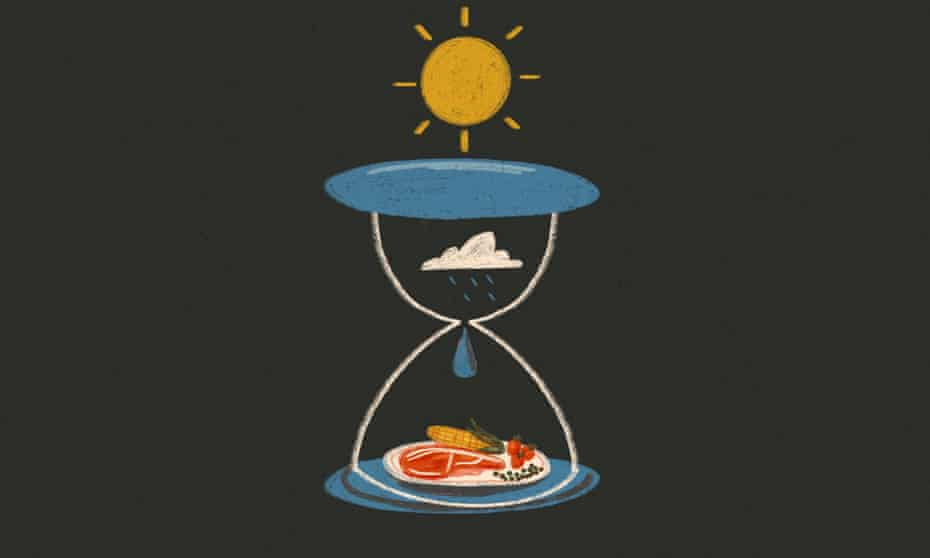 Climate countdown on food