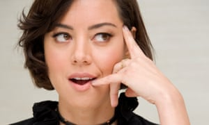 Aubrey Plaza says of her co-star Adam Devine: 'I feel like we