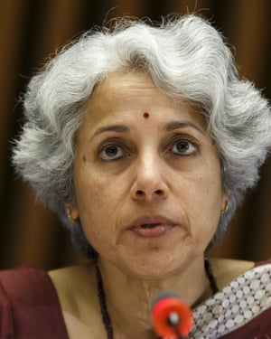 Soumya Swaminathan, the WHO's Chief Scientist.