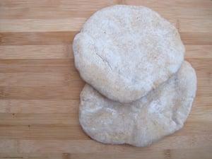 Yvonne Ruperti's pitta bread.