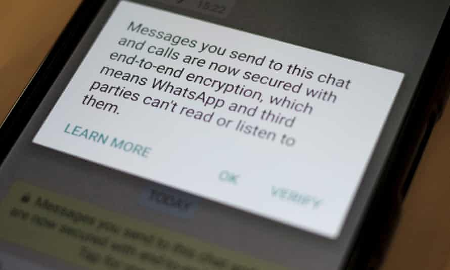 In April, Whatsapp announced it was using end-to-end encryption