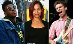 Jammy, Rhiannon Giddens and Andrew Savage: responsible for some of the best tracks of the past year.