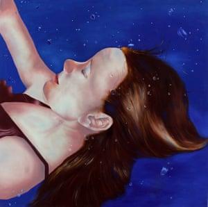 Submerged (oil painting on canvas 120cm x 120cm), Laura Buddle, 22, fine art, Loughborough University