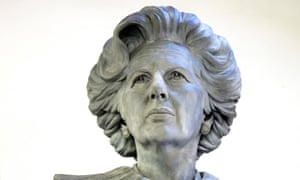 The Margaret Thatcher statue