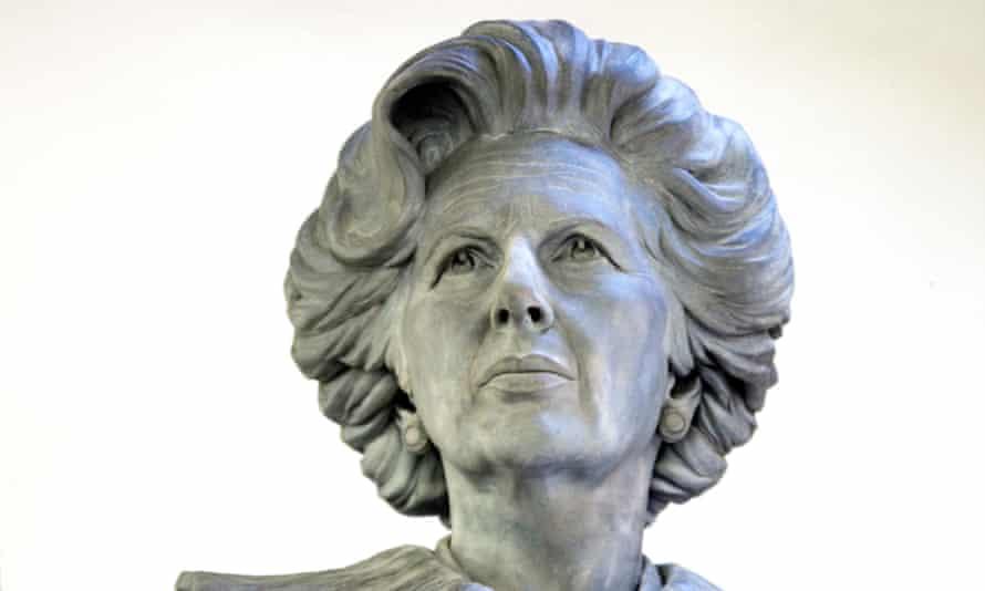 The Margaret Thatcher statue